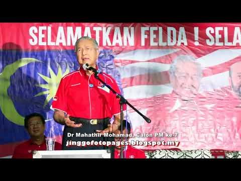 20180413 Dr Mahathir berucap @ Felda Bukit Tangga, Kubang Pasu