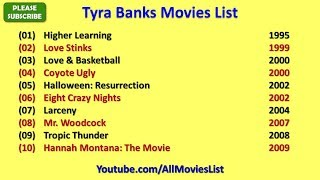Tyra Banks Movies List