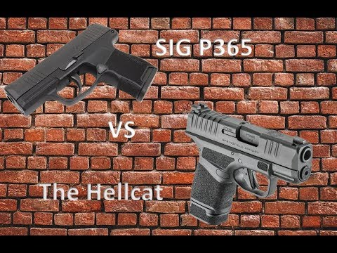 Battle Of The Subcompacts, The P365 VS The Hellcat