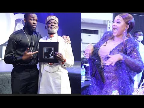 Download Proud Father: RMD Dance With His Children As Mercy Aigbe Steal The Show With Her Dance Moves