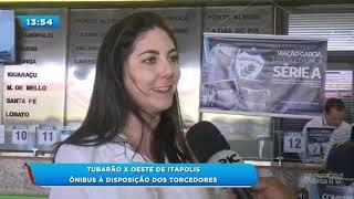 Tubarão x Oeste de Itápolis: ônibus à disposição dos torcedores