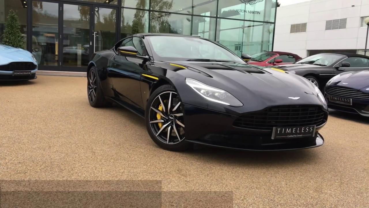 Aston Martin Db11 For Sale >> Aston Martin DB11 V12 Coupe Launch Edition in Ultramarine ...