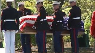 MASHPEE, MA- Funeral for Marine Daniel McGuire- killed in Iraq (08-23-08)