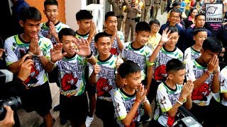 Thai Cave Boys Speak About Their Ordeal For The First Time | Lehren News