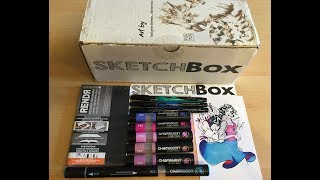 PREMIUM AND BASIC SKETCHBOX UNBOXING/REVIEW ~ JUNE 2017