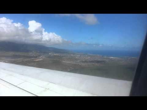 Anflug auf Kahului, Maui