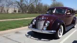 1937 Chrysler Airflow Classic Car today