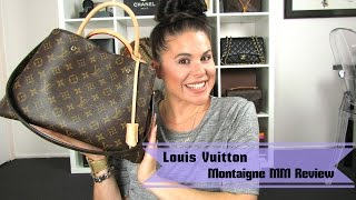Louis Vuitton Montaigne MM Review 2015