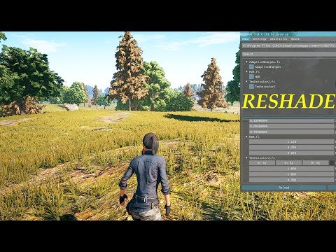 PlayerUnknown\'s Battlegrounds FPS Tweaks + RESHADE setup and settings