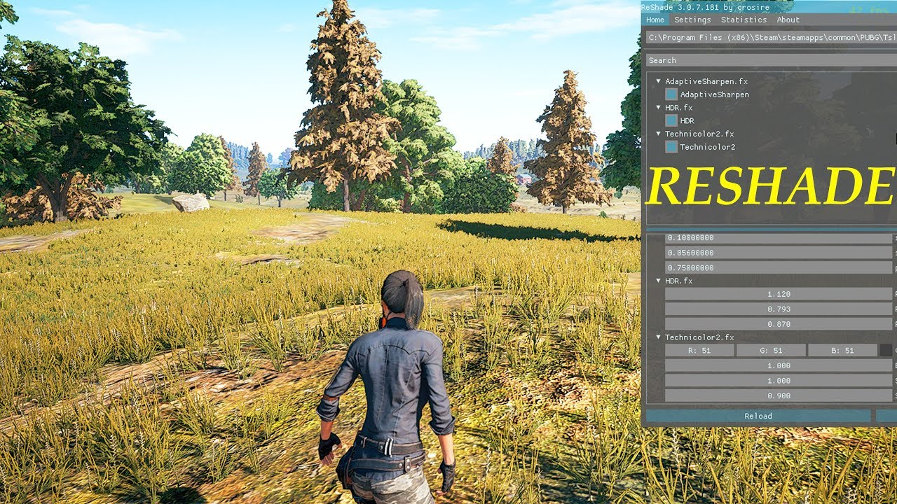 PlayerUnknown's Battlegrounds FPS Tweaks + RESHADE Setup