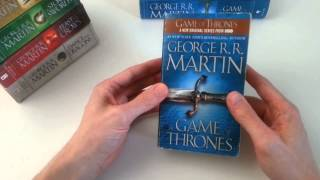 Book look review of: A Game of Thrones - Mass Market Paperback Edition