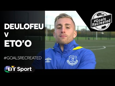 Gerard Deulofeu attempts to recreate Samuel Eto'o's audacious chip for Barcelona