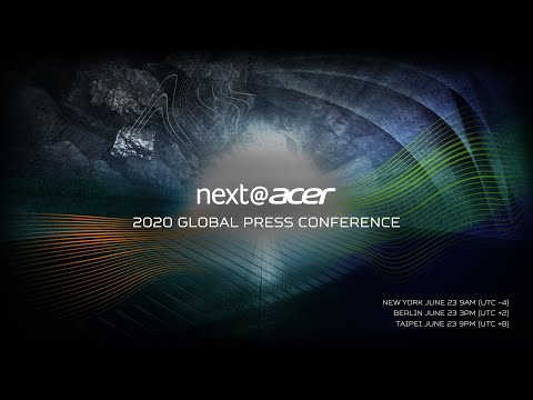 Next@Acer 2020 | Live from Taipei