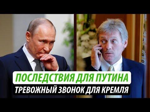 Последствия для Путина. Тревожный звонок для Кремля