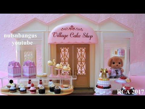 Calico Critters Village Cake Shop New 2017