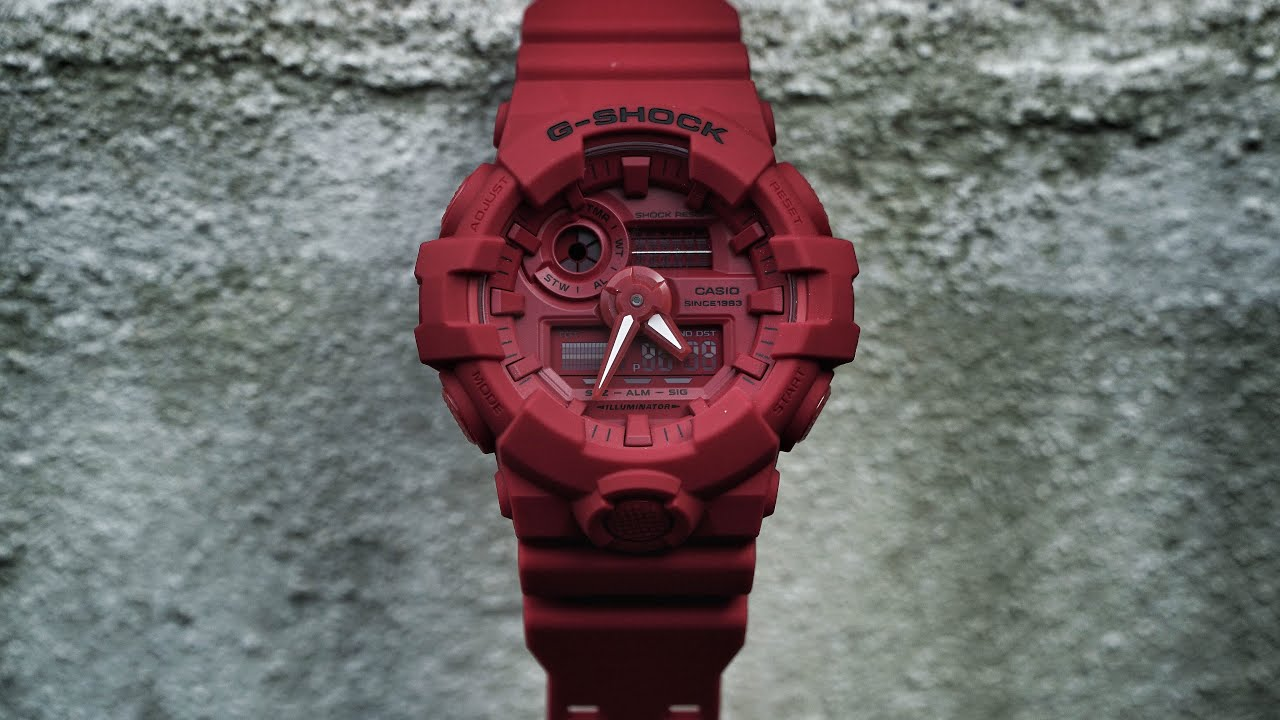 1e096caf337a G-Shock 35th Anniversary GA-735C-4AJR Red Out series watch unboxing   review