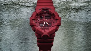 G-Shock 35th Anniversary GA-735C-4AJR Red Out series watch unboxing & review