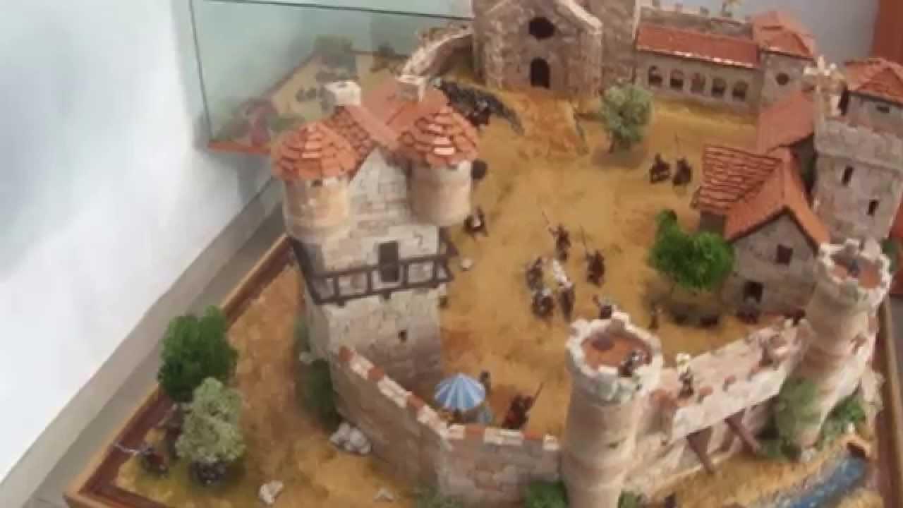 Castello Di Cartone Art Attack : Diorama castello mediovale : edizione del prado youtube