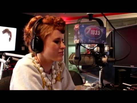 The HammeR interviews Kiesza on Z103.5!