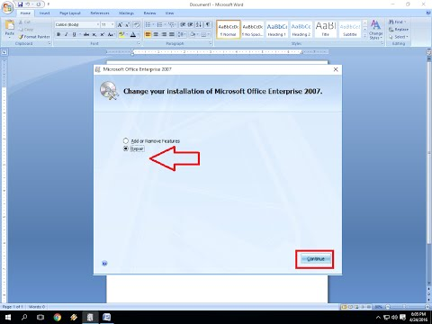 How To Repair MS Office Word Excel PowerPoint (Office 2003 To 2016)