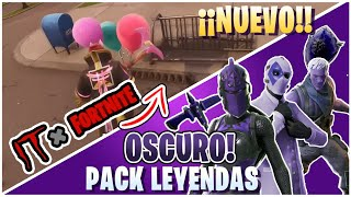 🔥 'FILTRATED' PACK OF DARK LAWS - IT Event in FORTNITE! #Fortnite #Leaks