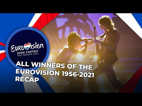 All winners of the EUROVISION 1956-2021 | RECAP