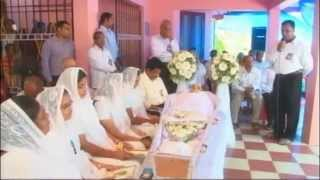Funeral Service of Mariamma John on 2015 Feb 7th