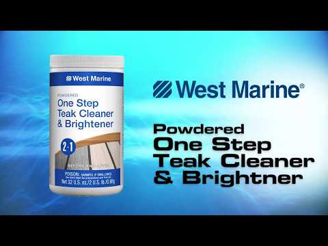 West Marine One-Step Teak Cleaner & Brightener