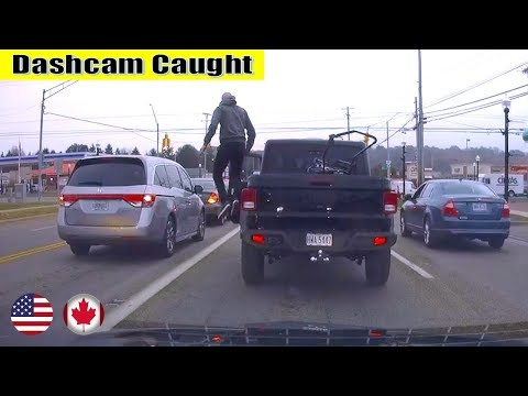 Ultimate North American Cars Driving Fails Compilation - 125 [Dash Cam Caught Video]