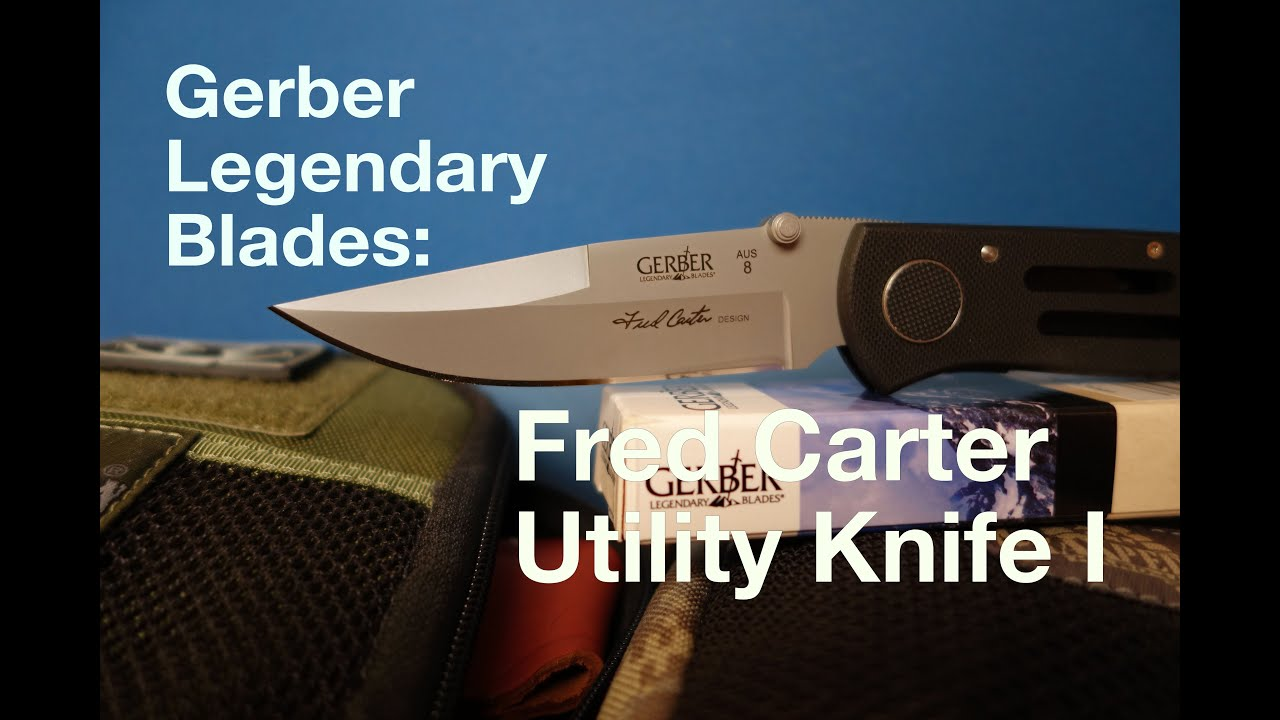 Gerber Legendary Blades Fred Carter Utility Knife I German