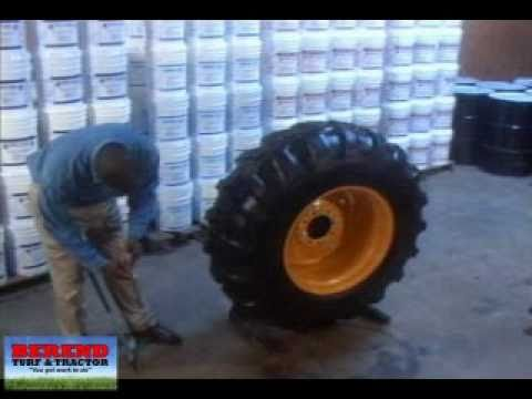 Multi Seal Tire Sealant And Berend Turf Amp Tractor Youtube