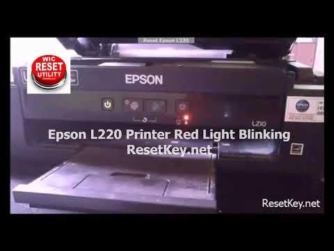 Epson L220 Resetter – FREE KEY to Reset Epson L220 printer