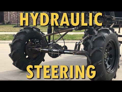 Monster Golf Cart Build Part 1 Hydraulic Steering