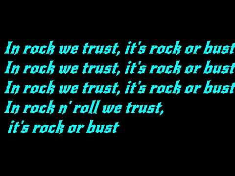 AC/DC - Rock or Bust Lyrics(HD)