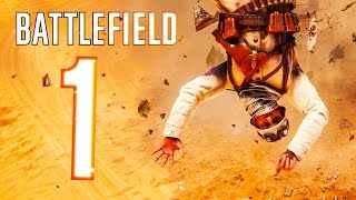 Battlefield 1 - Random & Funny Moments #1 (Zepplin Gone Mad, Flying Soldiers!)