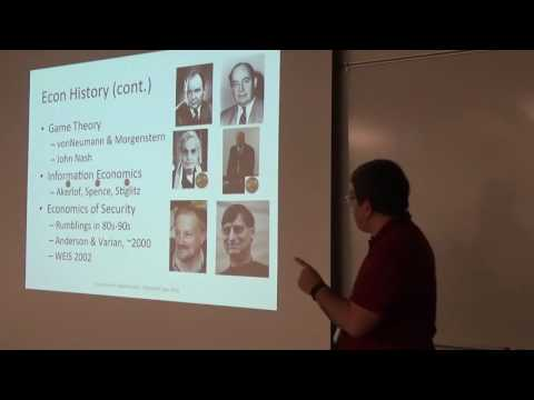 BSides Rochester 2016: Fernando Montenegro: Economics of Information Security