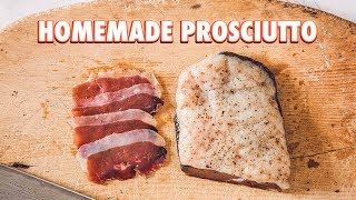 How to Make Prosciutto Using A Duck Breast
