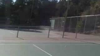 tennis action at uwc usa