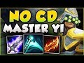 WTF! ESSENCE REAVER YI HAS NO COOLDOWNS?? MASTER YI SEASON 8 TOP GAMEPLAY! - League of Legends