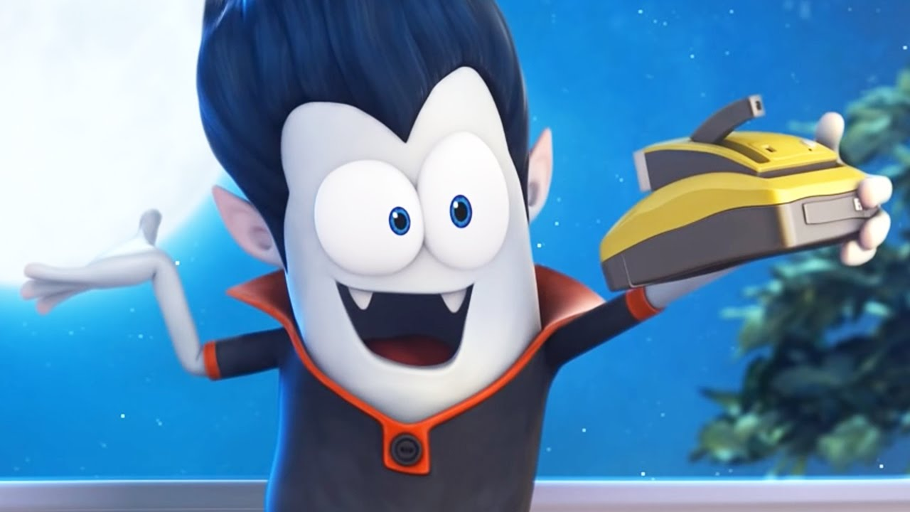 Funny Animated Cartoon Spookiz Say Cheese