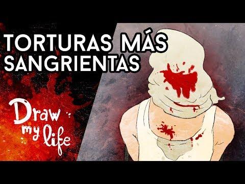 Las TORTURAS más SANGRIENTAS - Draw My Life en Español