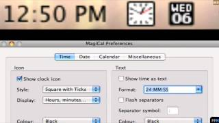 Put the Date in Mac Menubar Free-MR