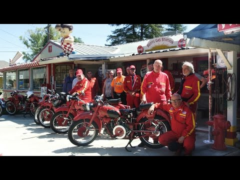 Moto Guzzi Falcone Club Tour of California - SEE LINK FOR AUDIO - September 2014