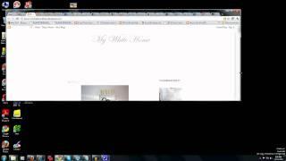 screen capture fixed width template & horizontal scroll bar
