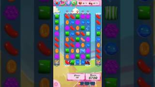 Candy Crush Saga Level 726 - NO BOOSTERS