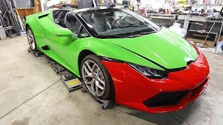 Auction Lamborghini Huracan Parts Are In!! And Pop-Ups are Out!!