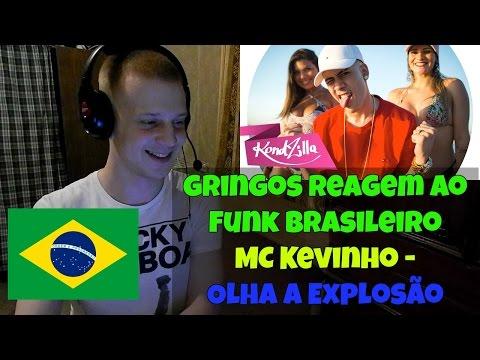 RUSSIANS REACT TO BRAZILIAN FUNK | MC Kevinho - Olha a Explosão | Gringos reagem ao funk brasileiro