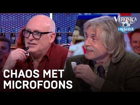 Johan en René trekken microfoontjes los | VERONICA INSIDE