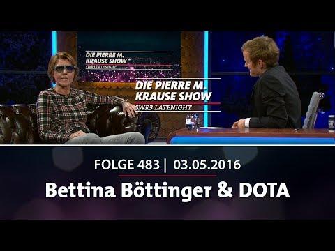 Pierre M Krause Show | Folge 483 | Bettina Böttinger & Dota
