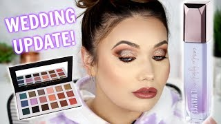 New Makeup GRWM! Chit Chat | Bachelorette Party + Wedding Updates!